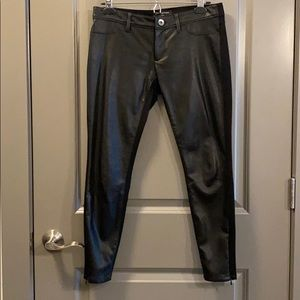 Banana Republic faux leather front, size 2P